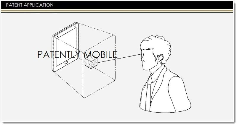 1. Cover Samsung 3D UI patent filing
