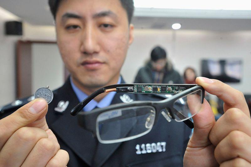 2. china-exam-cheat-glasses