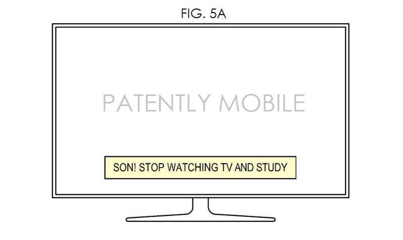 4. Samsung patent fig. 5a - smart home messaging system