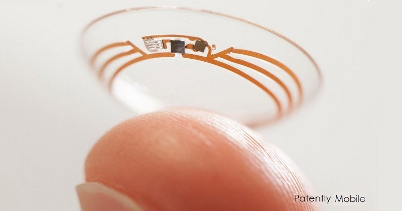 1AF. Google contact lenses cover graphic