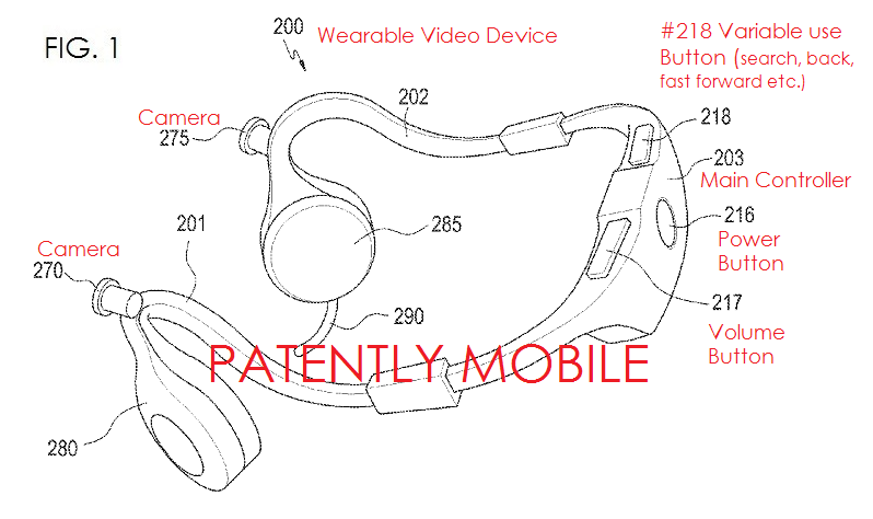 2AF SAMSUNG VIDEO HEADSET