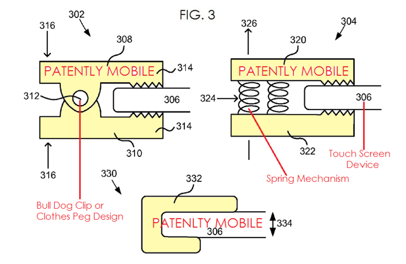 4 - MICROSOFT PATENT FIG. 3 CLIPS