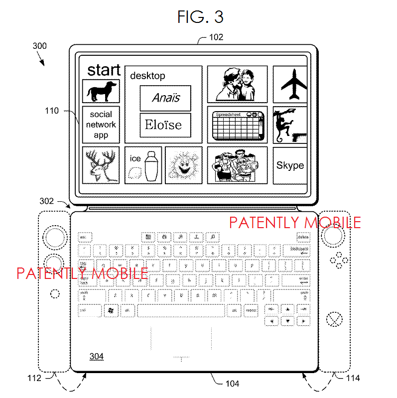 2AF - MSFT SURFACE TABLET COVER WITH ADDED GAMING CONTROLS FIG. 3