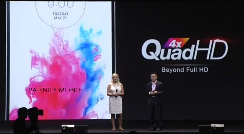 1 PATENTLY MOBILE - LG EVENT - NEW 4X QUAD HD DISPLAY