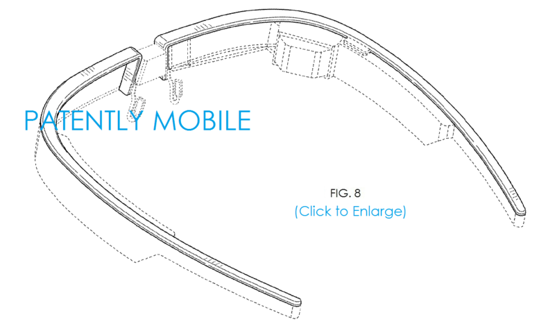 4AF PM - Google Glass fig. 6 VIEW FROM BACKSIDE