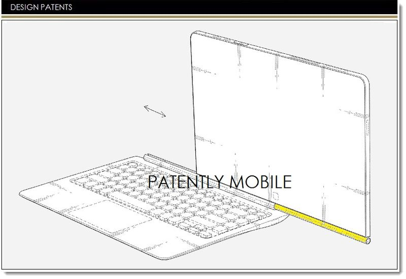 1. Cover - samsung granted patent for new notebook tablet hybrid configuration
