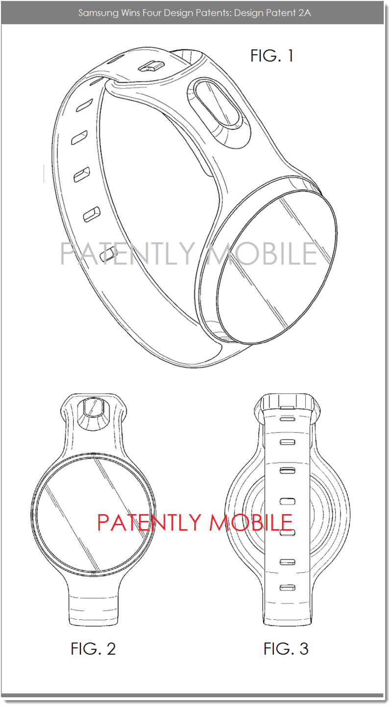4AF - SAMSUNG DESIGN PATENT 2A - FIGS. 1, 2 AND 3
