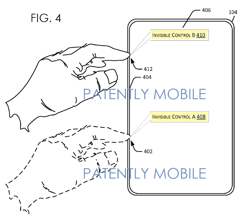 2AF - Microsoft's Invisible Controls Patent Application FIG4