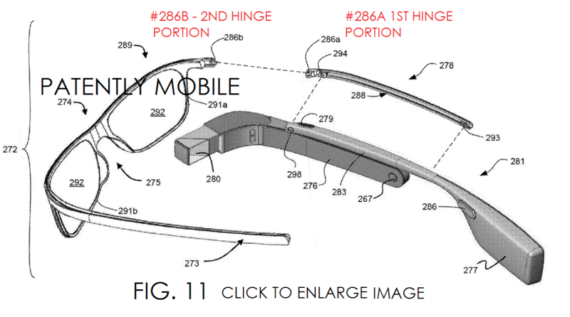 6AF - GOOGLE GLASS COMPONENT SYSTEM, FIG 11