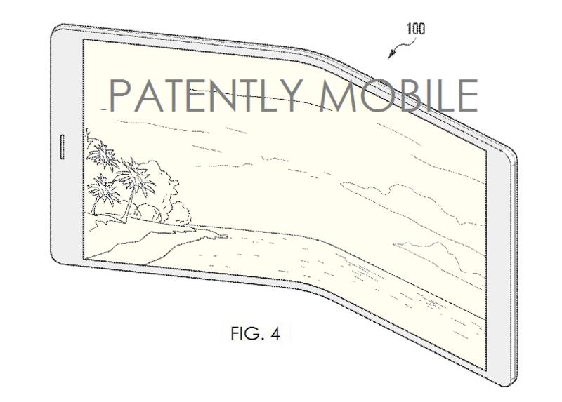 6AF - SAMSUNG PATENT FIG. 4 OF SMARTPHONE WITH FLEX DISPLAY